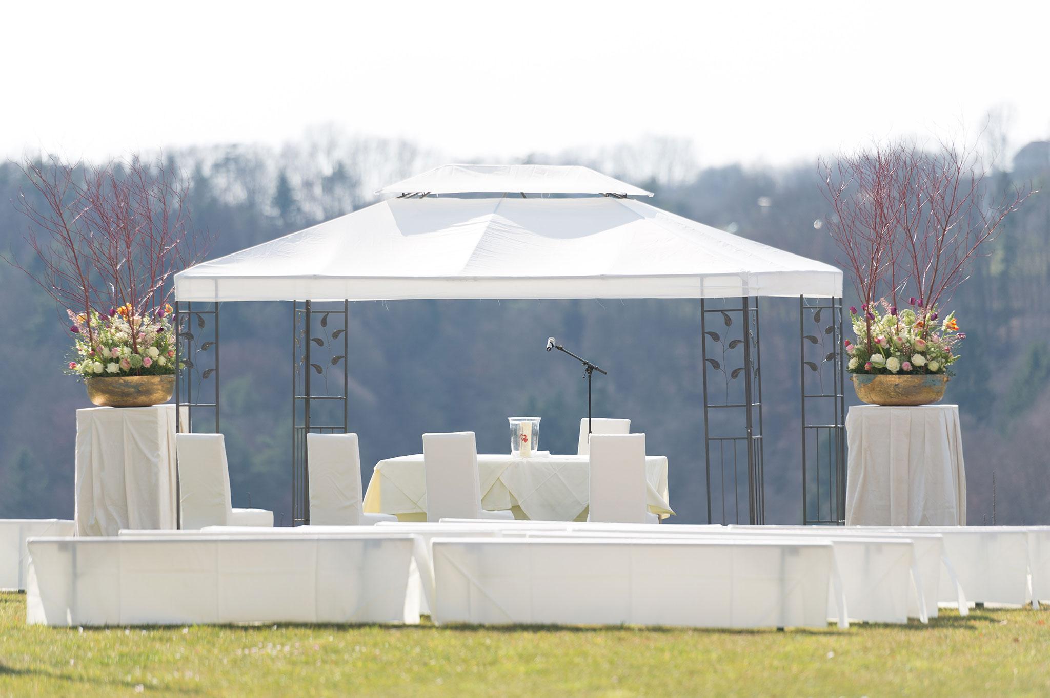 das eisenberg hochzeit pavillon